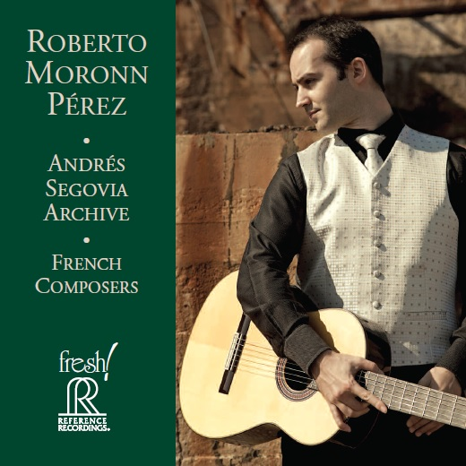 New CD Roberto Moronn Perez